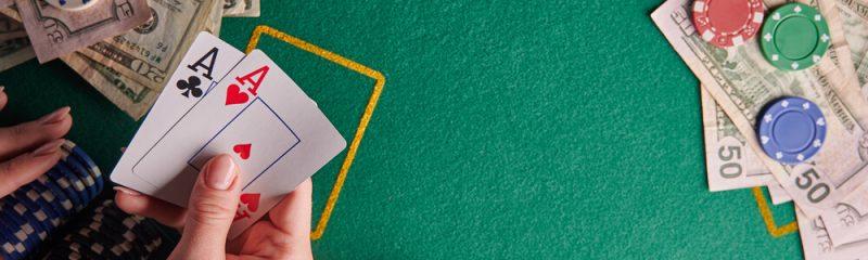 لعبة الورق بلاك جاك